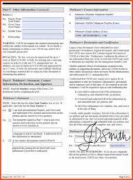 form i 130 sample program format