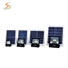 solar powered led flood lights quality outdoor lighting integrated 50w with panel led solar flood