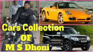 hellcat x132 dhoni amazing car and bike collection of m s dhoni youtube