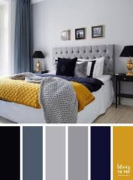 yellow and blue bedroom grey and blue decor with yello pop of color bedroom decor