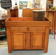 Antique Sinks Found In Ithaca Antique Pine Dry Sink U0026 Antique Primitive Sap Bucket