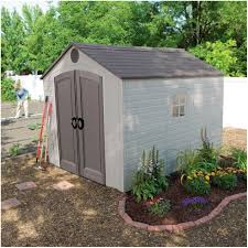 Outdoor Shed Kits by Backyards Excellent Hillcrest Lifetime Sheds 6415 11 X 135 Foot