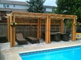 Pool Pergola Ideas by 24 Best All About Pergola Images On Pinterest Custom Decks Deck