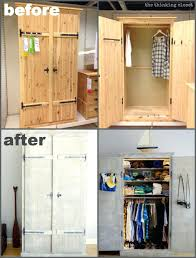 armoire closet ikea armoire armoire closet ikea wardrobe hack before after the