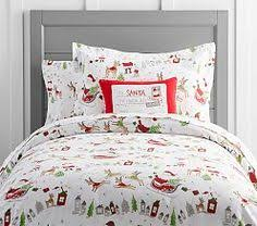 holiday bedding u0026 christmas bedding sets pottery barn kids