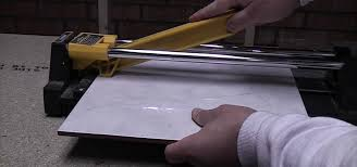 how to cut ceramic floor and wall tile with a tile cutter