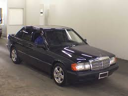 1991 mercedes benz 190 class 190d 2 5 japanese used cars auction