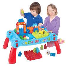 mega bloks first builders table mega bloks first builders 3 in 1 build n learn table