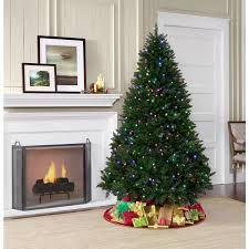 christmas tree shop online showtime 7 pre lit laramie pine tree shop your way