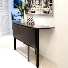 Folding Wall Dining Table Foldable Wall Desk Bar Height Desk Best Wall Mounted
