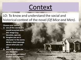 of mice and men context lesson by elhubball1 teaching resources