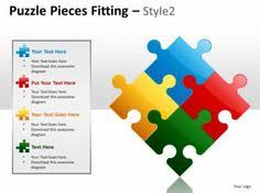 business puzzle list diagarm powerpoint templates ppt presentation