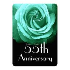 55th wedding anniversary 55th wedding anniversary invitations announcements zazzle