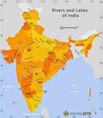 Yellow River Map Indian Rivers Map In Hindi Popular River 2017