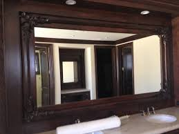 framing a mirror with wood 150 inspiring style for zoom