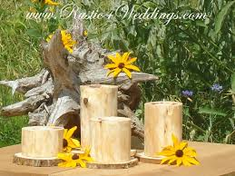 Wedding Candle Holders Centerpieces by Cedar Wedding Candle Holders Wood Candle Holders Made Out Of