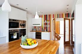 kitchen accent furniture trend 20 ways to add stripes to your kitchen