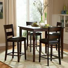 white counter height kitchen table and chairs dining perfect tall dining table with with a traditional feel for