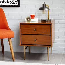 heston mid century nightstand walnut a very very very fine