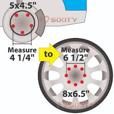 mustang 4 to 5 lug adapters 4pc 2 ford 5x4 5 to 8x6 5 wheel spacers adapters mustang