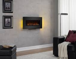 duraflame curved front electric wall mount fireplace bj u0027s