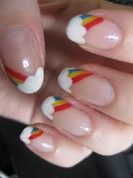 30 pretty cool rainbow nail art designs entertainmentmesh