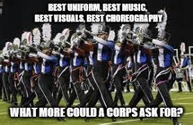 Drum Corps Memes - blue devils drum corps imgflip