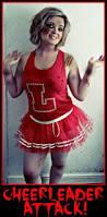 Zombie Cheerleader Costume Zombie Cheerleader Halloween Pinterest Zombie Cheerleader