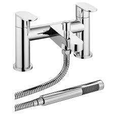 bosa bath shower mixer taps shower kit chrome victorian