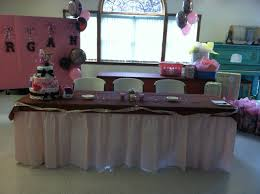 Baby Shower Table Setup by Pink Camo Baby Shower Ideas You U0027ll Love These