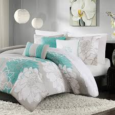 Printed Duvet Covers Madison Park Lola 6 Piece Printed Duvet Cover Set Ebay