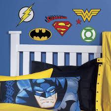roommates dc superhero logos peel and stick wall decals walmart com