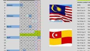 compact calendar for 2015 specifically for malaysia u2013 as i was
