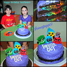 inside out cakes how to throw an inside out birthday party for your kids