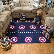 2016 cure cartoon square carpet non slip living room kids room rug