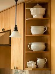 how to add a shelf to a cabinet small kitchens that live large better homes gardens