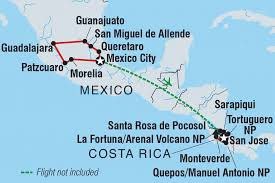 Map Of Mexico 1821 Mexico Tours U0026 Travel Intrepid Travel Au