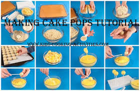 how to make a cake step by step how to make cake pops