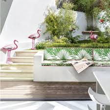 decorating with tropical colours ideal home turn your urban garden into a party hot spot