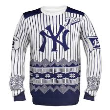 derek jeter new york yankees mlb ugly player sweater