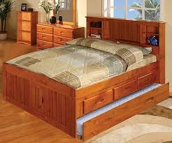 Full Bed With Trundle Captain U0027s Beds Full Size Captain U0027s Beds Page 1 Kids