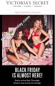 victoria secret on black friday victorias secret blacker friday
