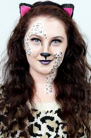 leopard halloween costume makeup video tutorial u2013 the domestic diva