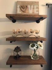 Deep Wall Shelves Handmade Wooden Wall Shelves Ebay