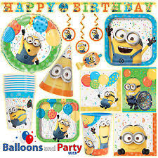 minions party supplies despicable me party supplies ebay
