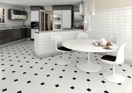 carrelage cuisine noir et blanc carrelage noir et blanc très chic des idées originales à en être