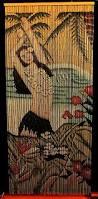 Amazon Beaded Curtains Amazon Com Bamboo Beaded Curtain Hawaiian Tropical Hula Dancer