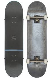 Rug Burn Globe Skateboard Complete Rug Burn Grey