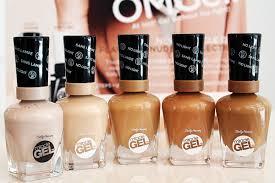 gel nail light sally s beauty sally hansen miracle gel hybrid gel polish needs no lamp first
