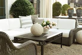 Ballard Designs Patio Furniture Suzanne Kasler Updates Her Outdoor Space How To Decorate
